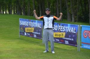 André Kasprzak er en del af den danske trio, der fredag skal på svenskerjagt ved Samsø Pro-Am Classic
