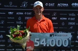 Jeff Winther vinder Bravo Tours Open 2013 i samlet 16-under-par.