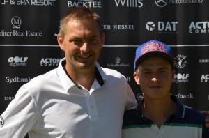 Erland og Ole Jørgen Skatter sluttede i henholdsvis +10 og +17 ved Mørk Masters 2013, men er tilbage næste år for at forbedre resultatet.