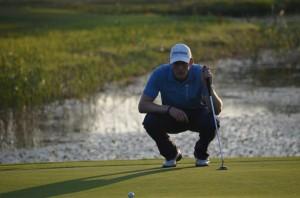 Lokale, Kristian Grud, er blandt favoritterne til at levere et topresultat ved ACTONA PGA Championship i Holstebro Golfklub