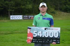 Sebastian Söderberg vandt ACTONA PGA Championship - by Tang Biler Volkswagen Holstebro efter omspil med Daniel Løkke.