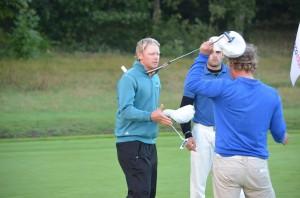 Sebastian Söderberg satte en tyk streg under, at han er fremtiden mand. En runde i 64 slag, og han fører ACTONA PGA Championship efter første runde.