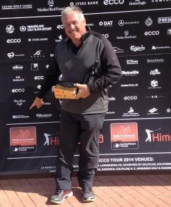 Leif Nyholm gør opmærksom på, at Murermester, Brian Harder, har tilsluttet sig ECCO Tourens netværk.