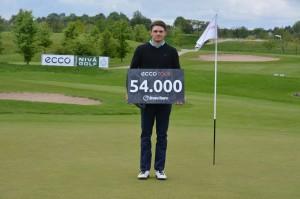 Christopher Feldborg-Nielsen vandt Bravo Tours Open 2014 på Nivå Golf.