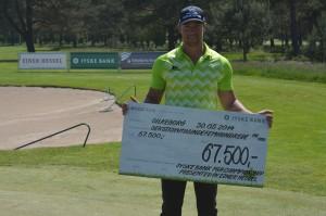 Marcus Larsson vandt Jyske Bank PGA Championship by Ejner Hessel 2014 i Silkeborg Ry Golfklub