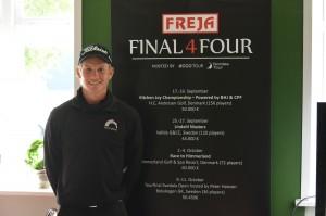 Jesper Billing fører FREJA Final 4Four efter sejren ved Kitchen Joy Championship. Der resterer fortsat tre events i FREJA Final 4Four.