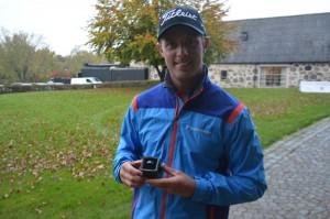 Jacob Glennemo vandt Nordic Golf League og C6 Championship Ring 2014