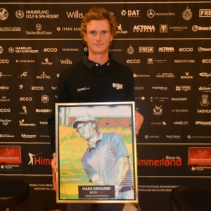 Mads Søgaard blev ECCO Tour Rookie of the Year 2014