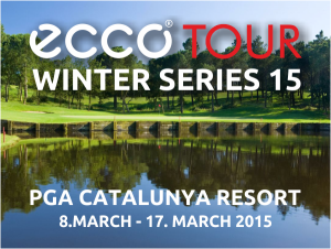 ECCO Tour Winter Series 2015 is played at PGA Catalunya Resort from 8 - 17 March.