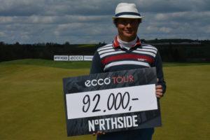 Tapio Pulkkanen vandt NorthSide Charity Challenge 2015 efter omspil med Thomas Nørret. Indsamlingen til 2016 udgaven går godt, og du kan stadig gøre en god handel på auktionen.