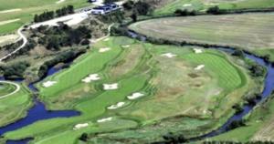 Storådalens Golfklubs bane i flotte omgivelser