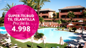 Bravo Tours med supertilbud til Islantilla Golf Resort.