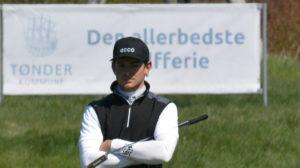 Kasper Sørensen er på 6. pladsen inden fredagens finalerunde ved Kitchen Joy Championship by Visit Tønder.
