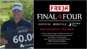 Kasper Estrup fører FREJA Final 4Four efter sejren ved Thisted Forsikring Championship - Kan Estrup løbe med det eksklusive Maurice Lacroix ur?