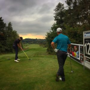 Den udfordrende bane i Storådalens Golfklub viste sig fra sin smukkested side på førstedagen af Thisted Forsikring Championship 2016