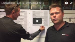 Race to Himmerland lodtrækning