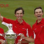 Axelsen og Højgaard tvillingerne fik Den Gyldne Golfbold