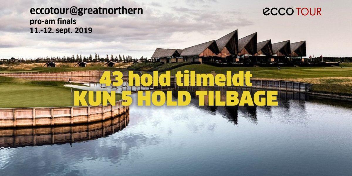 ECCO Tour Pro-Am finale på Great Northern – tilmeld dit hold nu – KUN 4 PLADSER TILBAGE