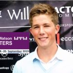 Willis Towers Masters, Kokkedal Sept. 18-20