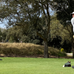 Marcus Helligkilde i front af ECCO Tour Spanish Masters By DAT