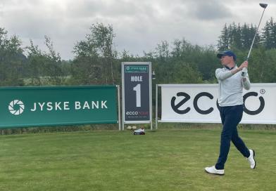 LIVE: Lasse Jensen i front af Jyske Bank Championship