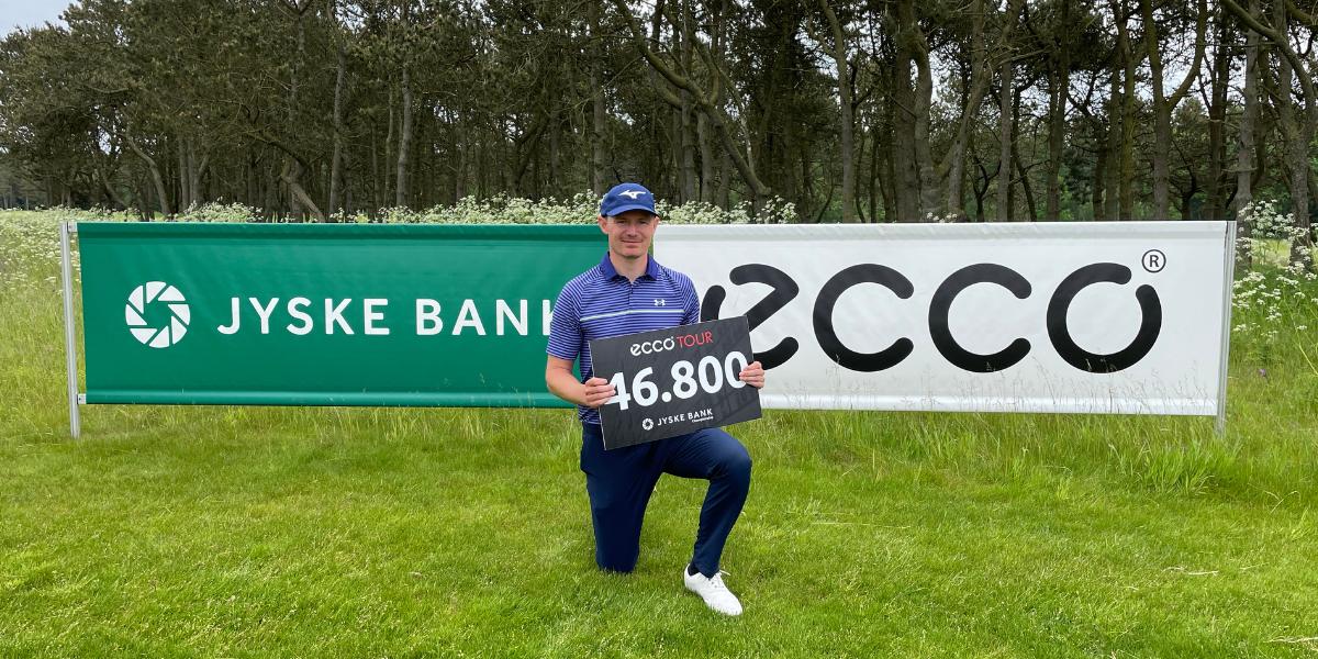 Lasse Jensen vinder Jyske Bank Championship