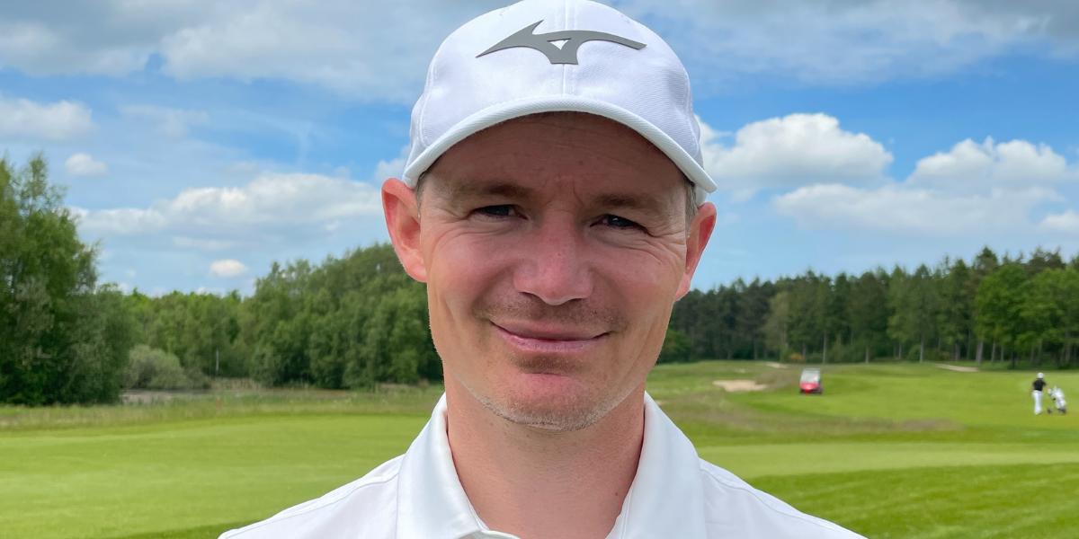 Lasse Jensen skyder banerekord og er i spidsen ved Jyske Bank Championship