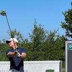 Sebastian Wiis i front af Jyske Bank Championship