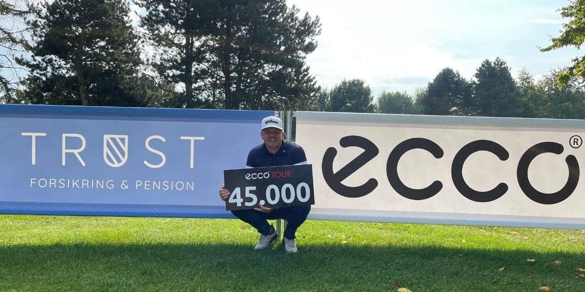 Nicolai Tinning vinder TRUST Forsikring Championship