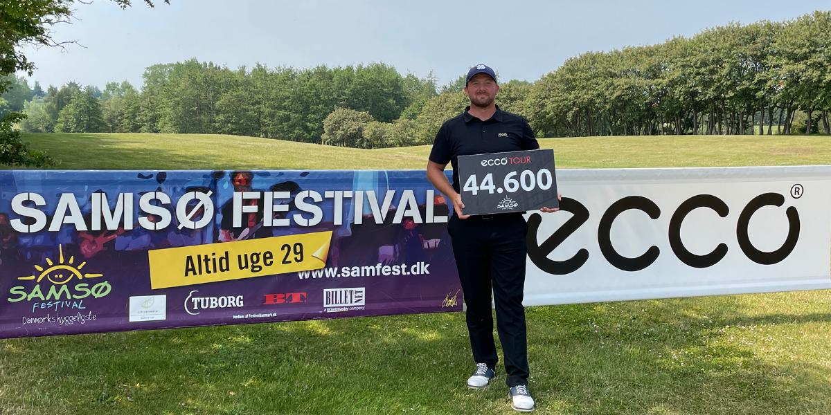 Joakim Wikström vinder Samsø Pro-Am Classic by Samsø Festival